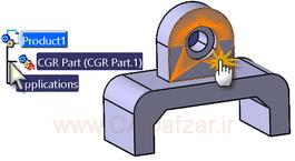 کلیک روی فایل cgr و نتیجه آن