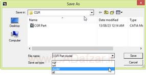 فرمت و مسیر ذخیره فایل