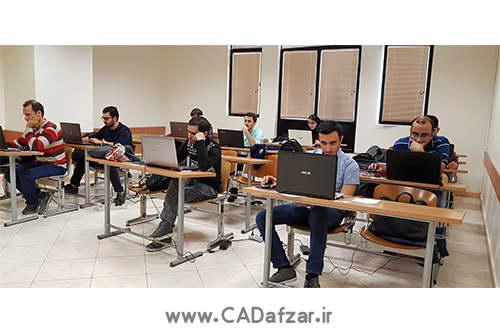 مرحله عملی مسابقه دانشگاه امیرکبیر