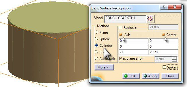 Basic Surface Recognition