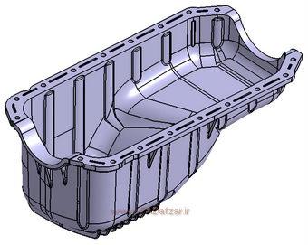 مدل سه بعدی OIL pan