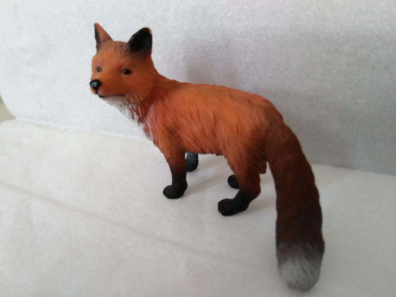 مدل سه بعدی مجسمه روباه