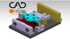 نمونه مدل سه بعدی جیگ-(قید) سوراخ کاری  در کتیا