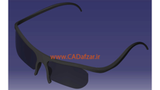 فریم عینک سه بعدی