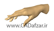 ابرنقاط دست | کدافزار
