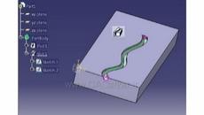 کم کردن حجم بر روی یک منحنی دو یا سه بعدی