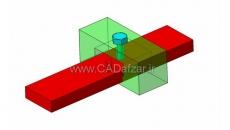 دستور Clash در محیط مونتاژ نرم افزار کتیا  بررسی تداخل یا برخورد بین قطعات