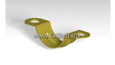مدل سه بعدی قالب بست لوله در کتیا |کدافزار
