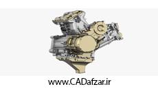 فایل موتور یک خودرو بصورت سطح| کدافزار