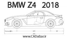 بلوپرینت نسل جدید بی ام و| BMW Z4 2018