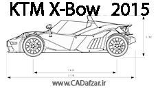 بلوپرینت ماشین مسابقه  کی تی ام  مدل X-Bow-GT| کدافزار