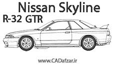 بلوپرینت نیسان اسکای لاین  R-32 GTR| کدافزار