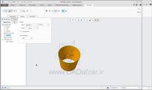 آموزش نرم افزار کریو Creo|معرفی،محیط ها|طراحی بالا به پایین|1|کدافزار