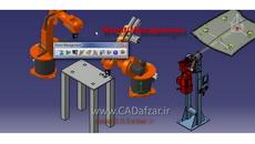 آموزش دلمیا مدیریت ربات ها دستور jog در تب Robot Management کدافزار