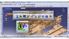 آموزش دلمیا مدیریت ربات فرمان MT Jog از تب Robot Management کدافزار