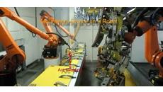 آموزش دلمیا تعریف ابزار برای ربات دستور set tool از تب Robot management کدافزار