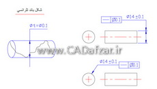 آموزش GD&T|مفاهیم تلرانس های فرم و روش کنترل با ساعت|درس 3|کدافزار