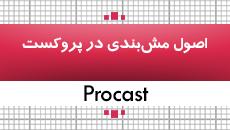 آموزش پروکست|اصول مشبندی در procast