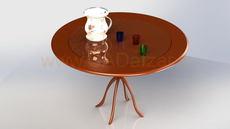 میز و لیوان