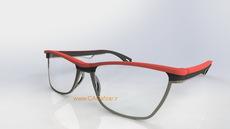 طراحی قاب عینک طبی تیتانیومی