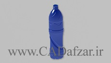 فایل سه بعدی بطری آب 1.5 لیتری سالیدورکس 2018