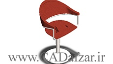 مدل سه بعدی صندلی سالیدورکس 2018 رایگان