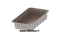 مدل سه بعدی ظرف یکبارمصرف Plate|سالیدورکس|کدافزار