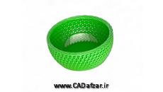 مدل سه بعدی سبد Basket|سالیدورکس|کدافزار