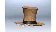 مدل سه بعدی کلاه|سالیدورکس|کدافزار