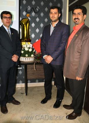 جناب مهندس علي پور و جناب مهندس جواد آجورلو و جناب مهندس مرادي