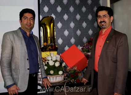 جناب مهندس علي پور و جناب مهندس خطير نژاد