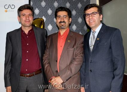 جناب مهندس مرادي  و جناب مهندس علي پور و جناب مهندس علی اسلامی