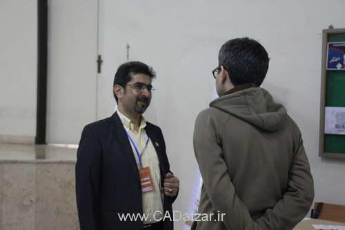 صحبت های شرکت کنندگان مسابقه با مهندس علی پور