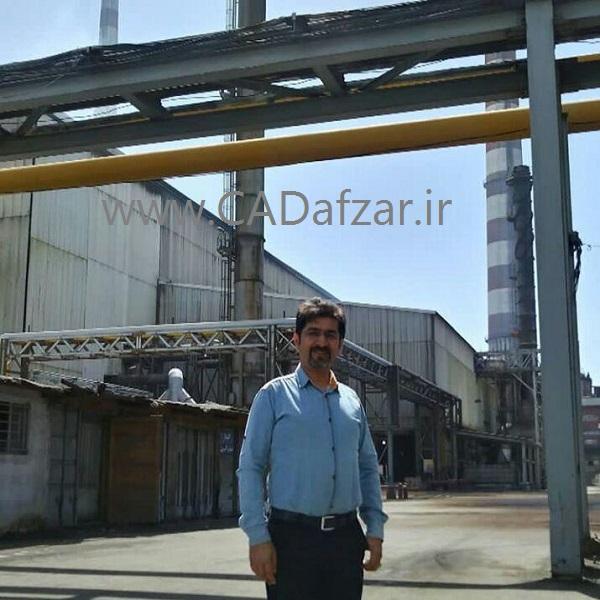 بازدید مهندس علی پور از کارخانه مس سرچشمه