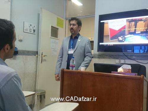 مهندس علی پور ، ارائه دهنده سمینار روش اصولی مهندسی معکوس